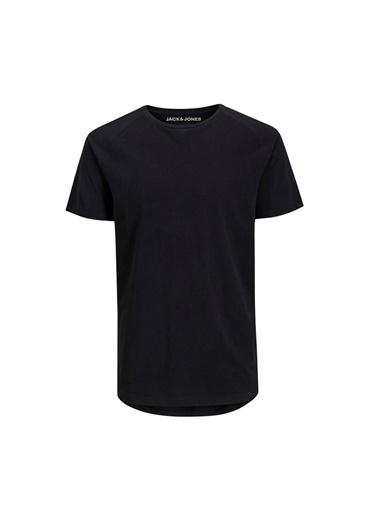 Jack & Jones Jjecurved Tee Ss O-Neck N Erkek Kısa Kol T-Shirt Siyah